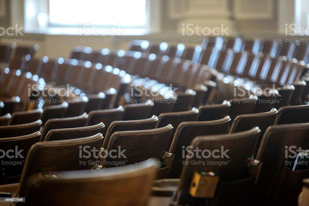 State Legislature seats stock photo