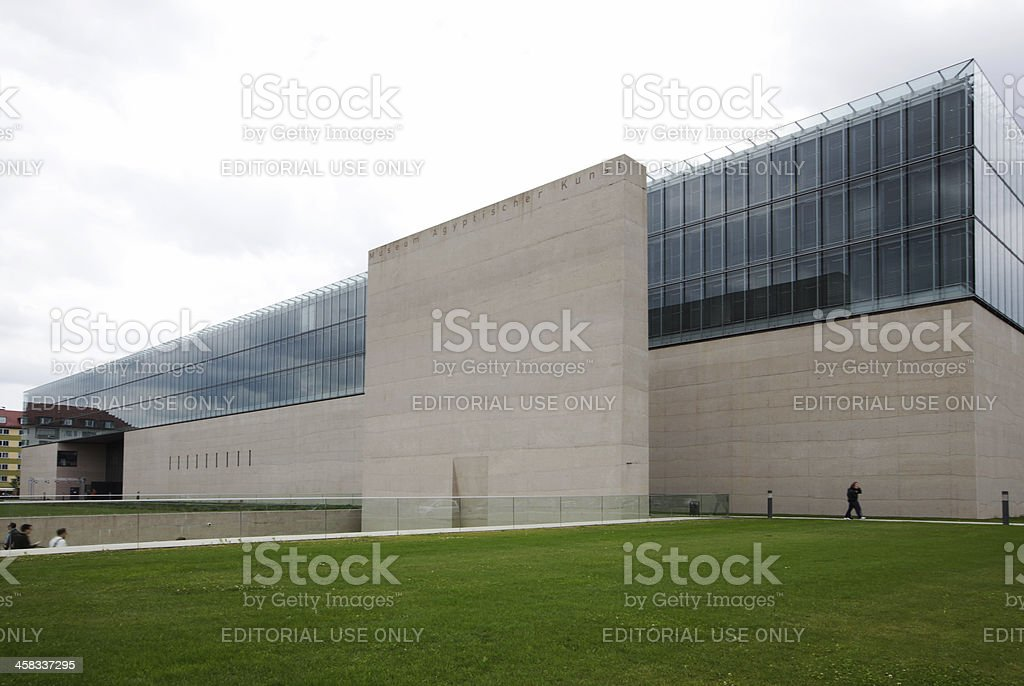 Staatlicher Museum Agyptischer Kunst, Munich royalty-free stock photo