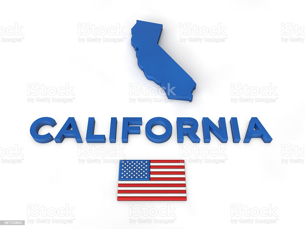 USA, State of California stock photo
