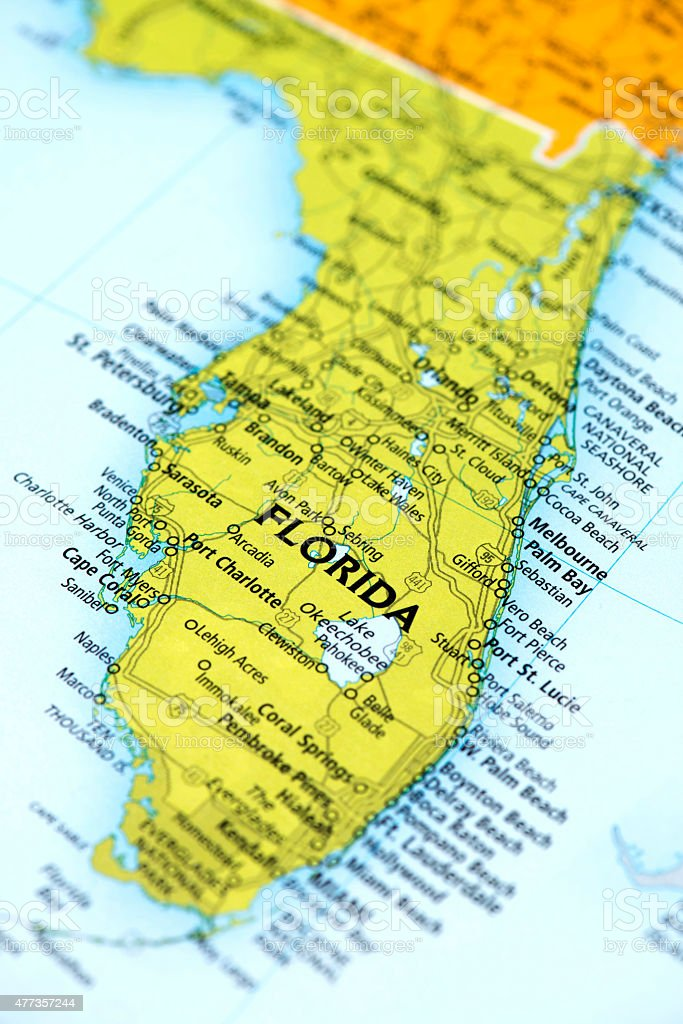 State of Florida State, US stock photo