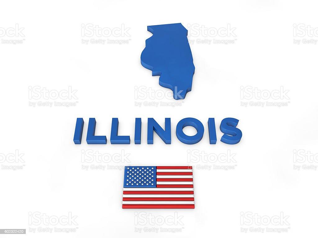 USA, State of Illinois stock photo