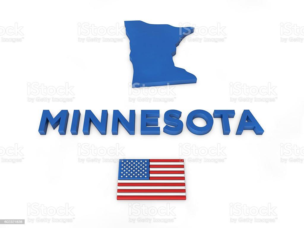 USA, State of Minnesota stock photo