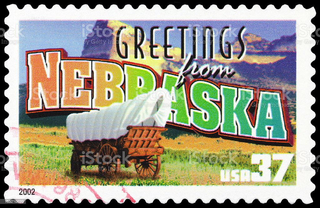 State of Nebraska stock photo