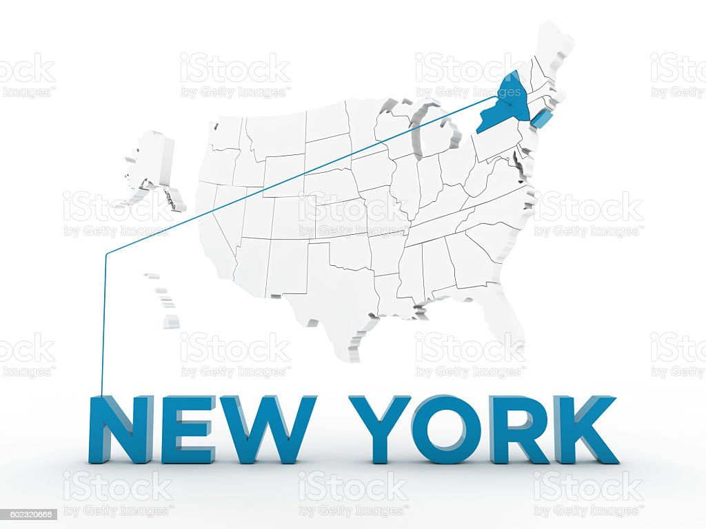 USA, State of New York stock photo