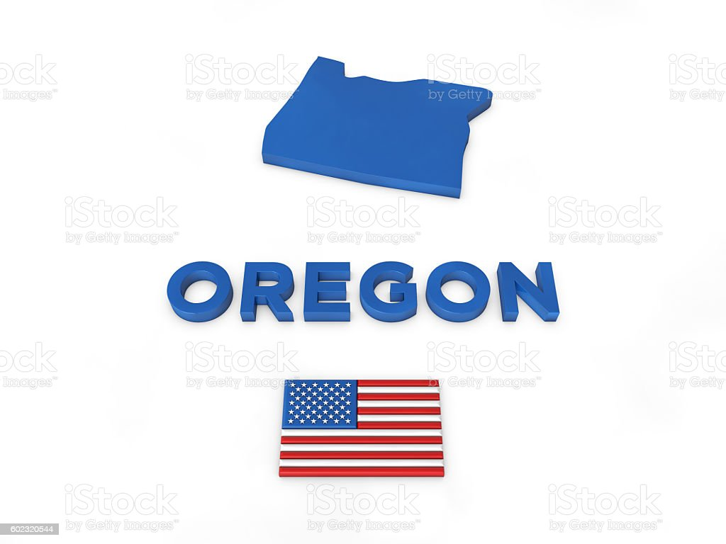USA, State of Oregon stock photo