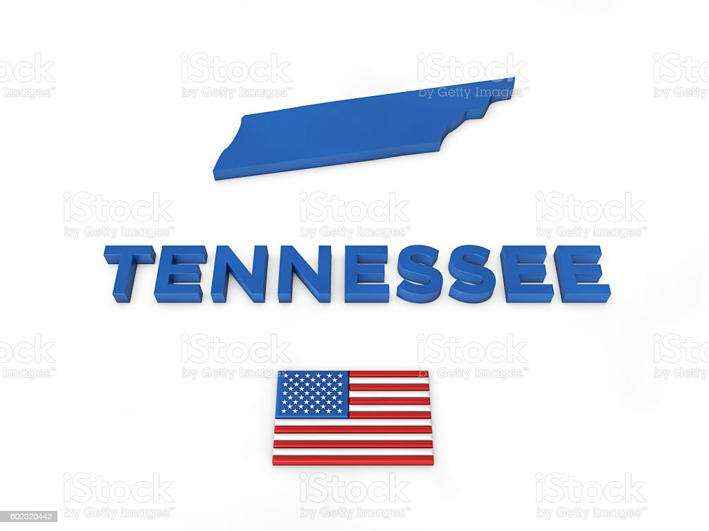 USA, State of Tennessee stock photo