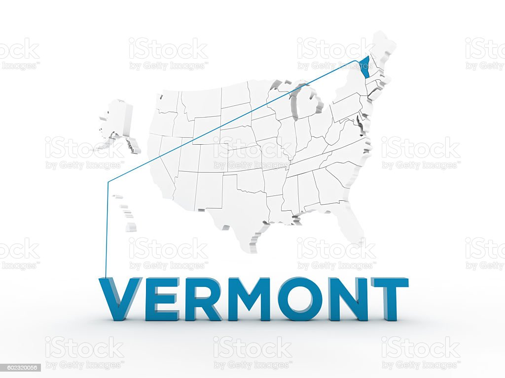 USA, State of Vermont stock photo