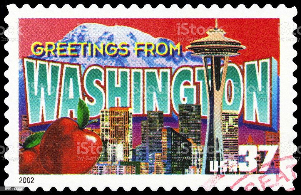 State of Washington stock photo