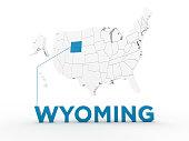 USA, State of Wyoming
