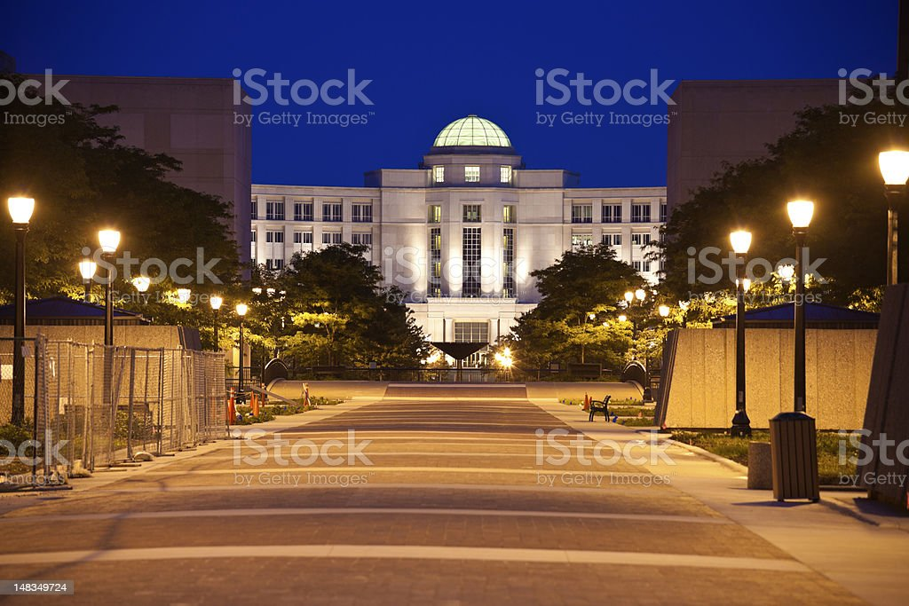 State Office Building stock photo