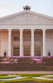 State opera and ballet theatre 'Astana Opera' in Astana. Kazakhstan