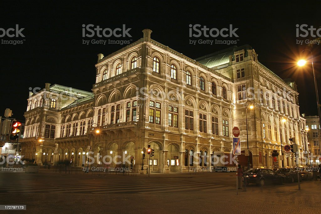 Staatsoper royalty-free stock photo