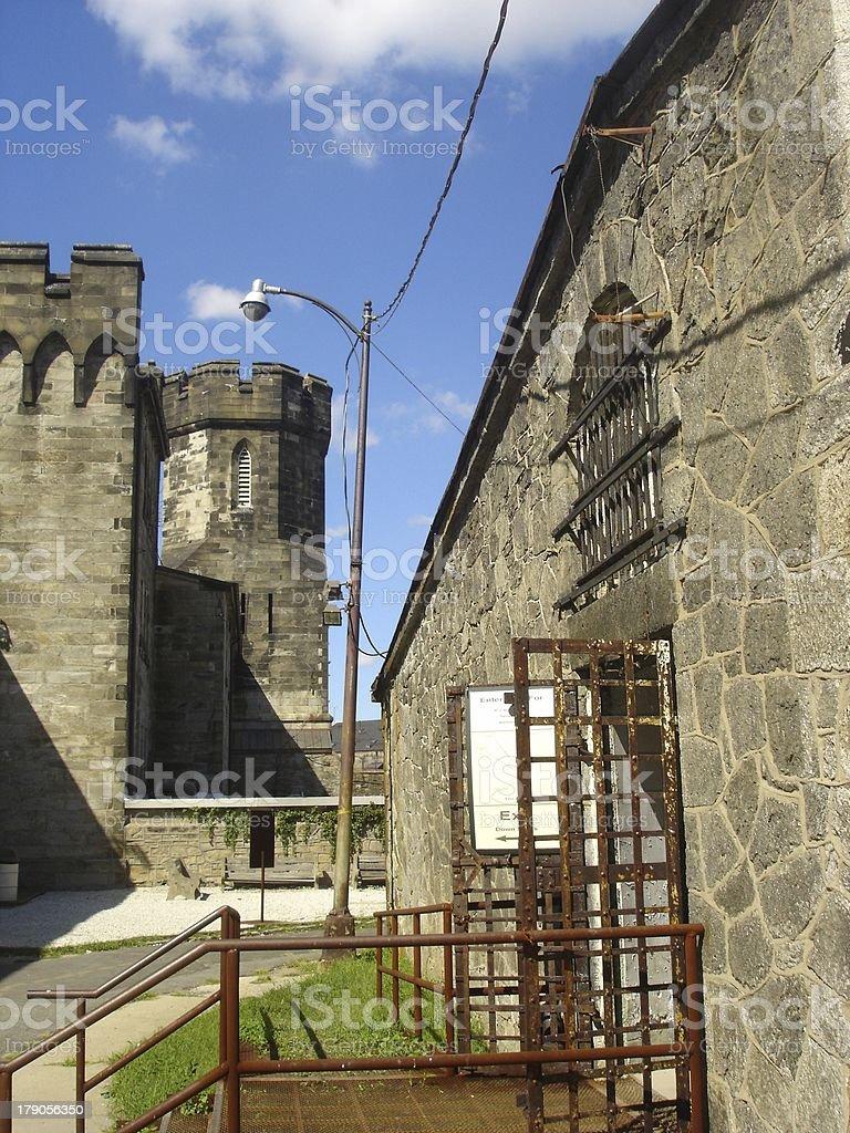 State Prison stock photo