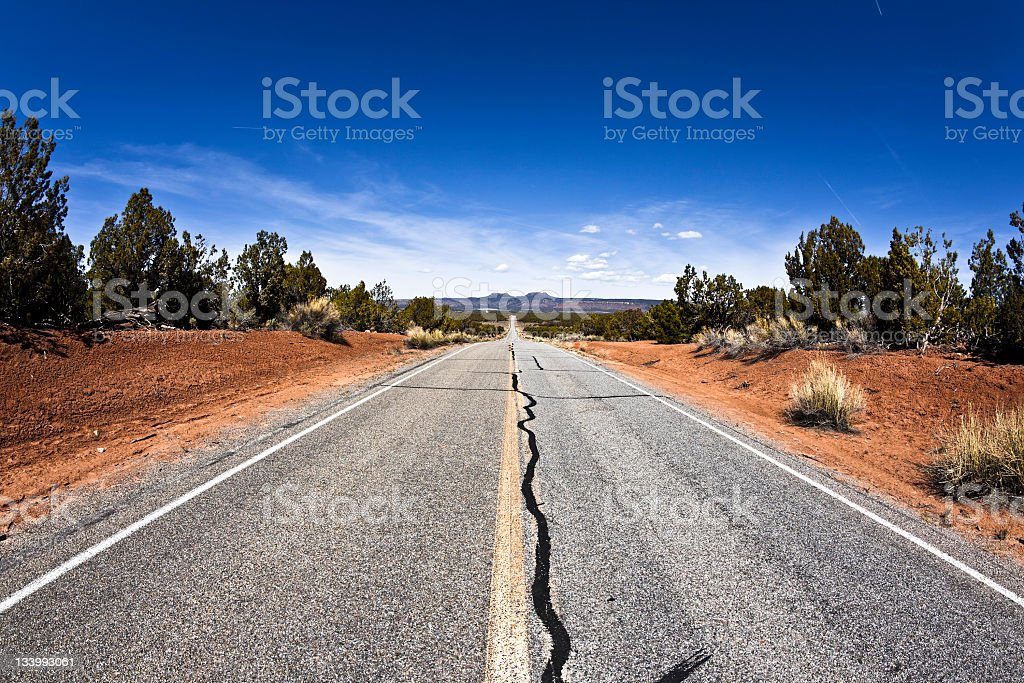 State Route 261 stock photo
