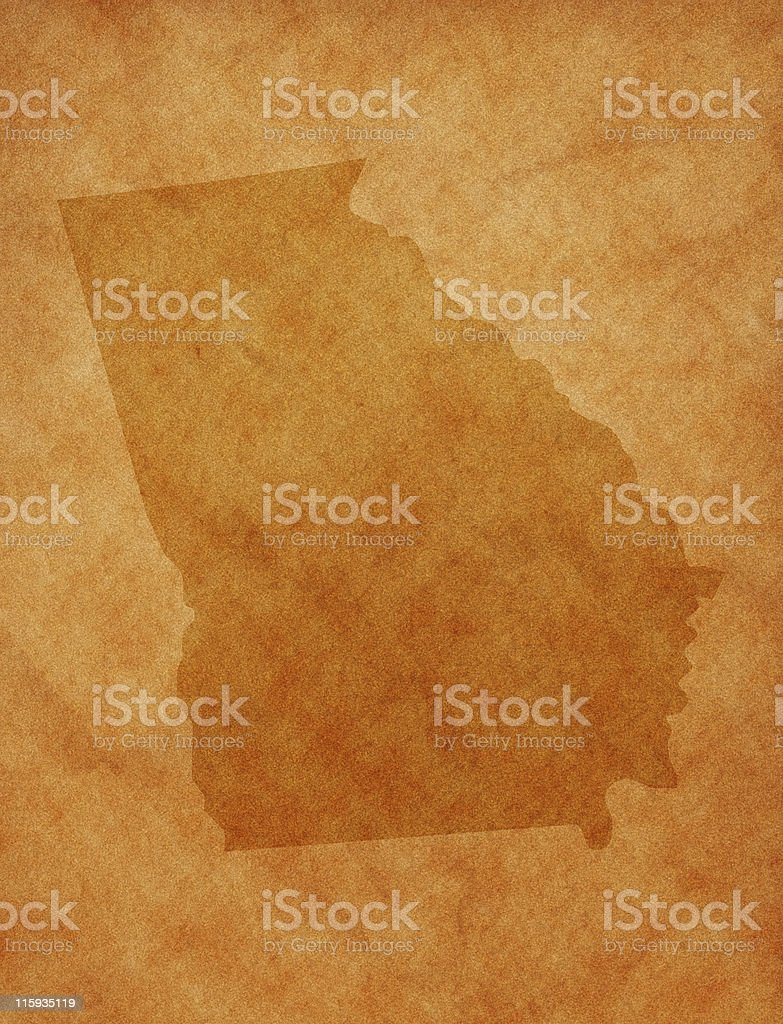 State series - Georgia royalty-free stock photo