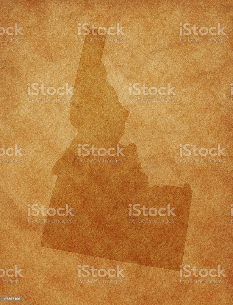 State series - Idaho stock photo