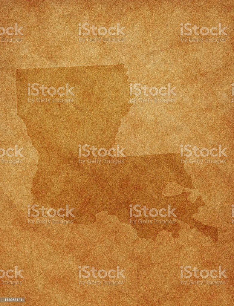State series - Louisiana royalty-free stock photo