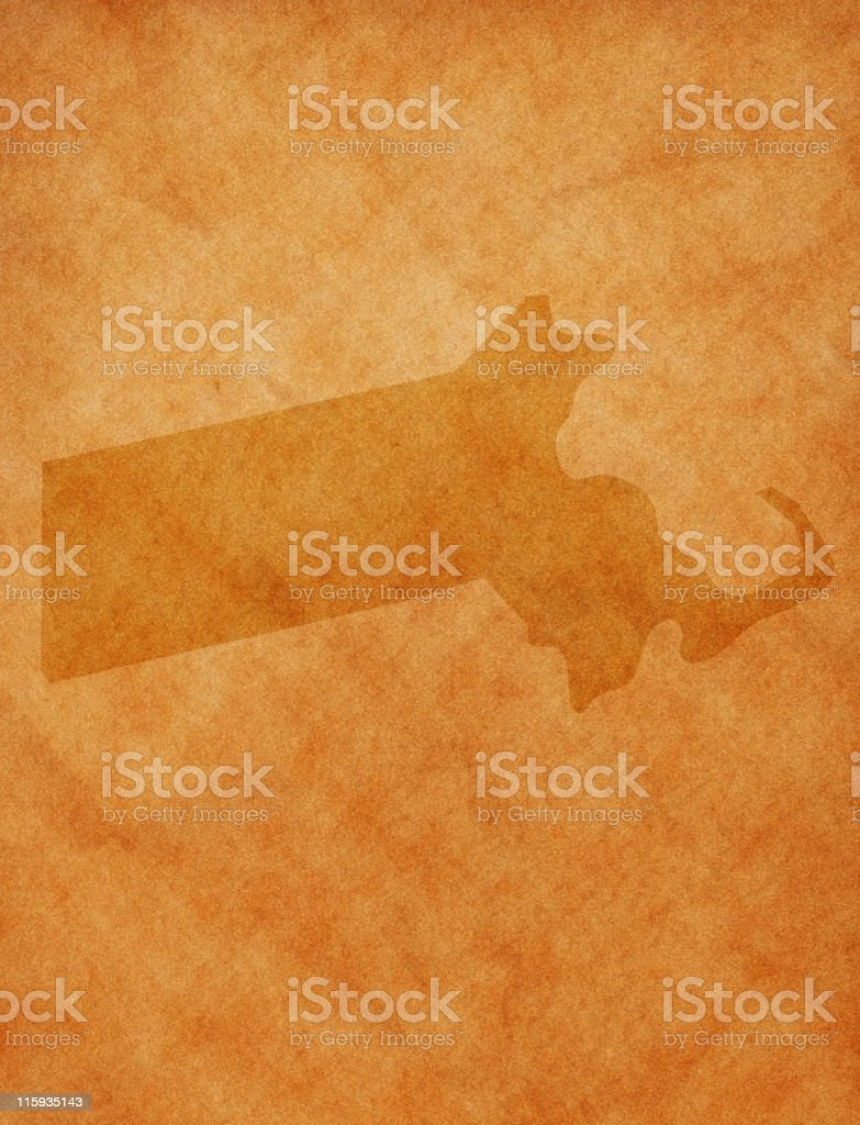 State series - Massachusetts stock photo