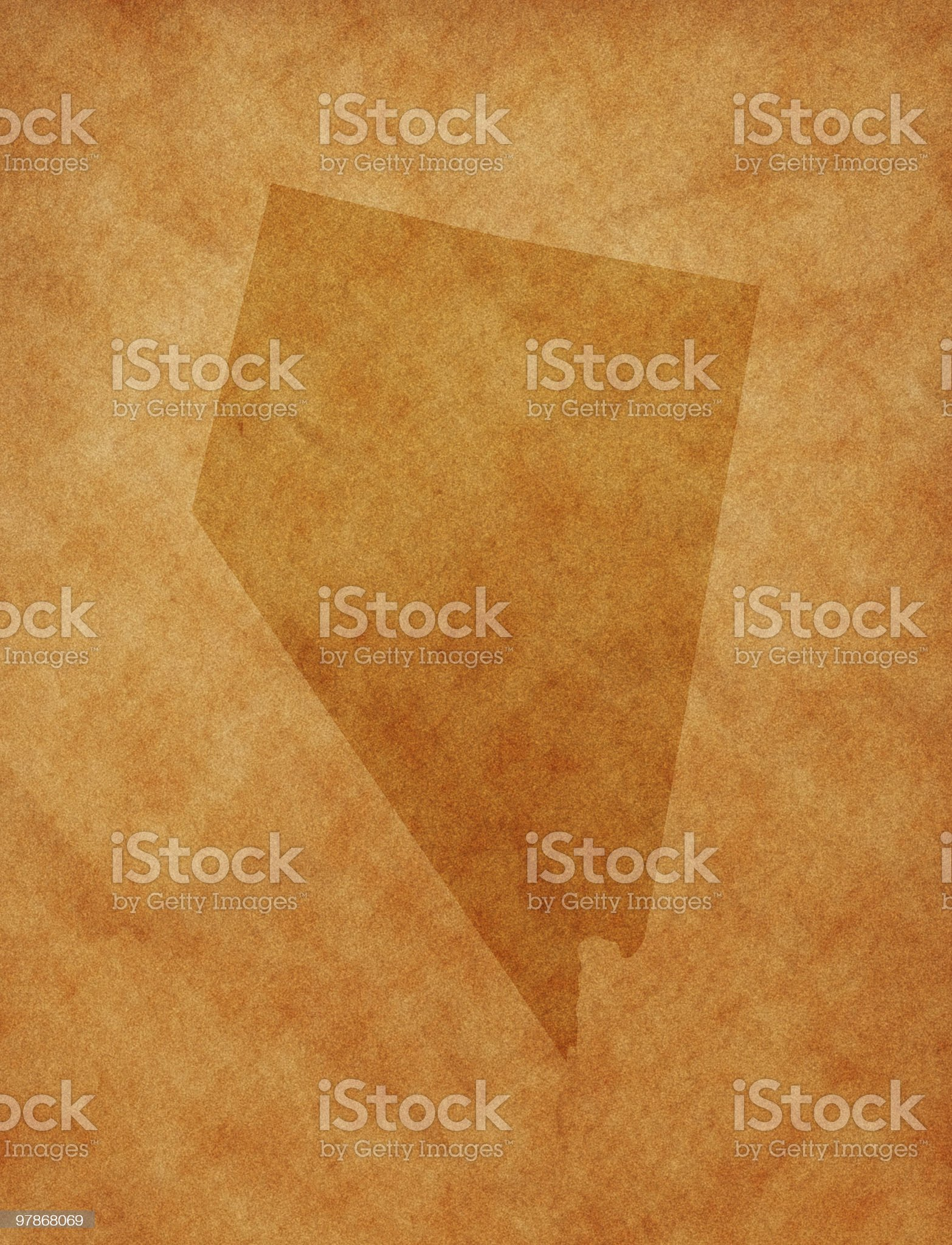 State series - Nevada royalty-free stock photo