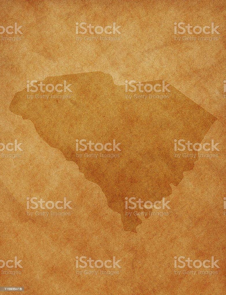 State series - South Carolina royalty-free stock photo