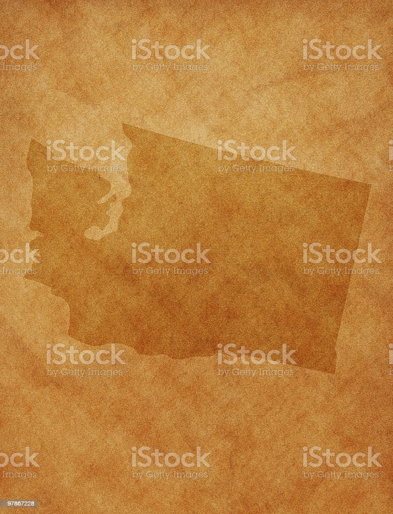 State series - Washington royalty-free stock photo