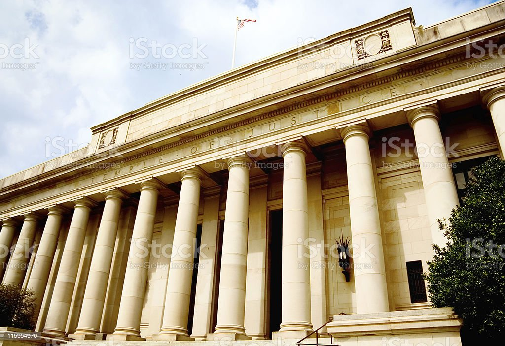 State Supreme Court Building royalty-free stock photo