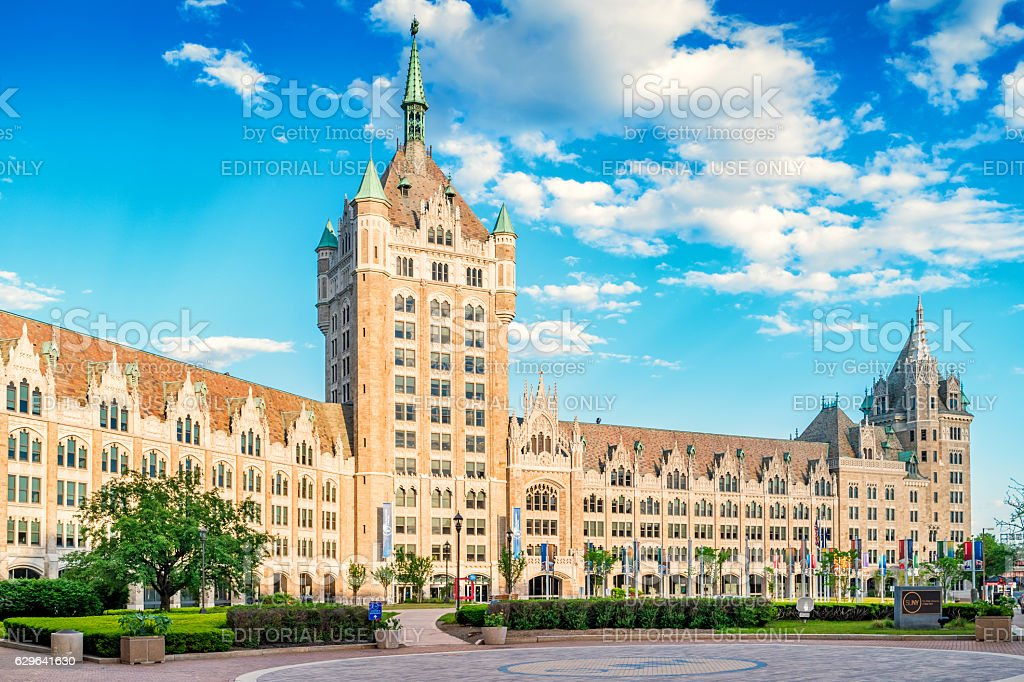 State University of New York in Albany New York USA stock photo