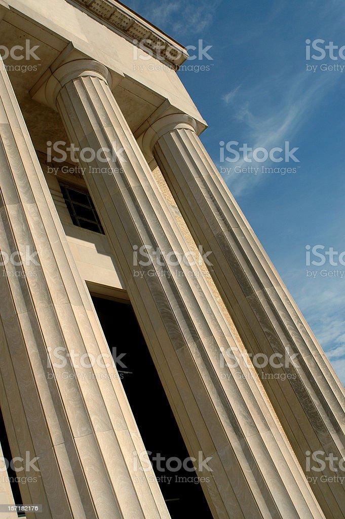 Stately Columns stock photo