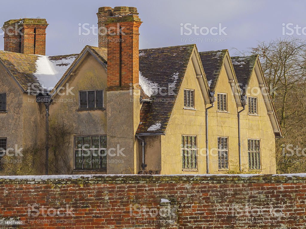 stately home stock photo