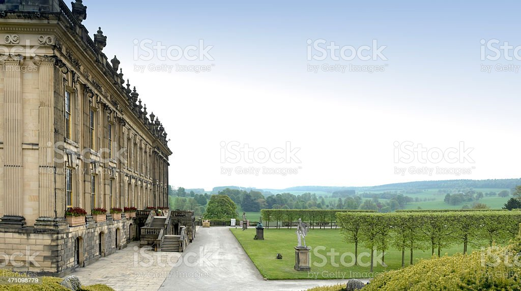 stately home royalty-free stock photo