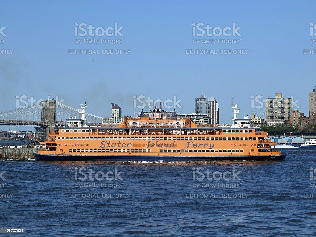 Staten Island Ferry royalty-free stock photo