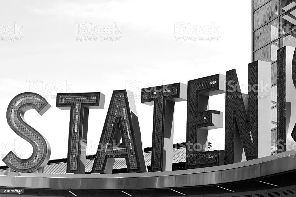Staten stock photo