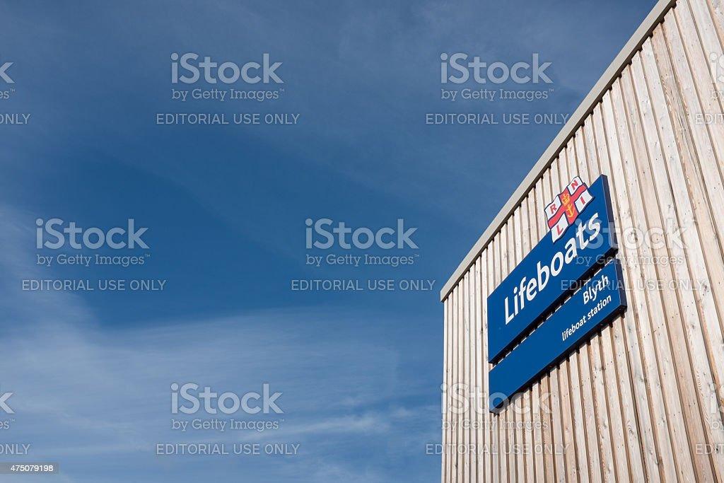 RNLI Station, Blyth, Nothumberland, UK stock photo