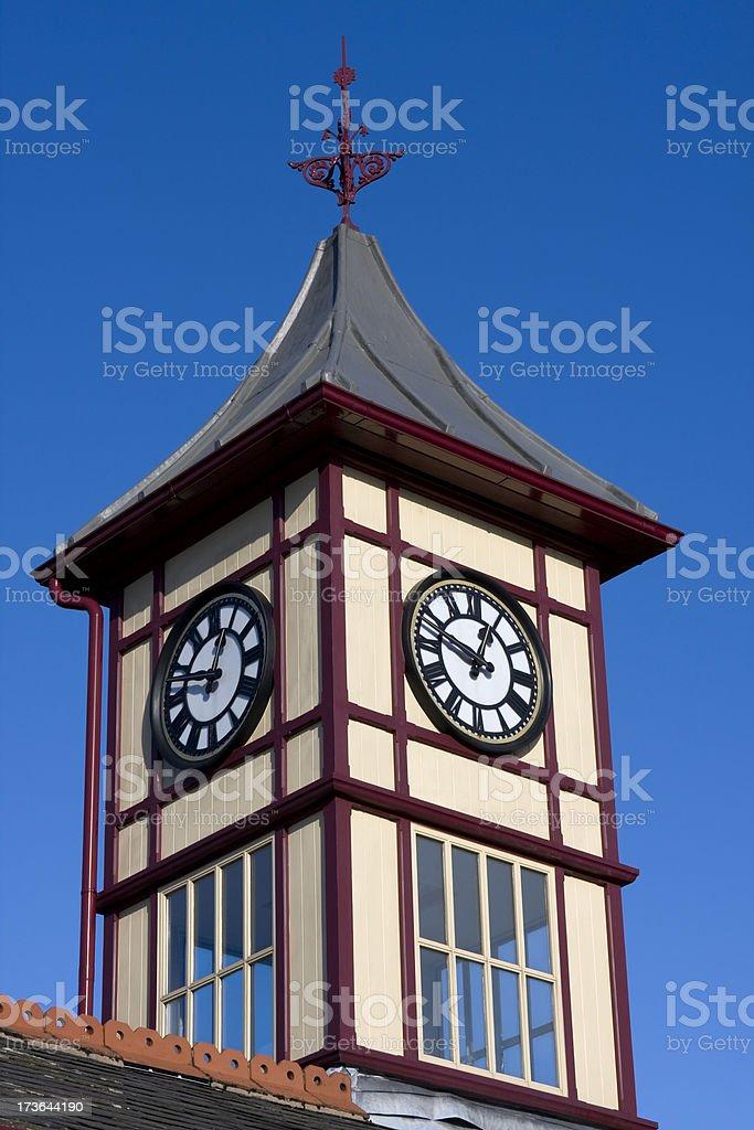Station clock royalty-free stock photo