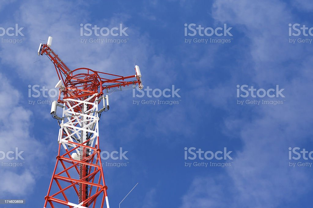 Station GSM royalty-free stock photo