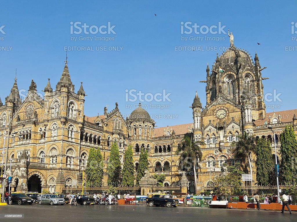 VT Station Mumbai royalty-free stock photo