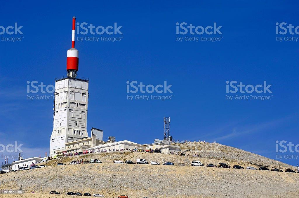station of Mount Ventoux stock photo