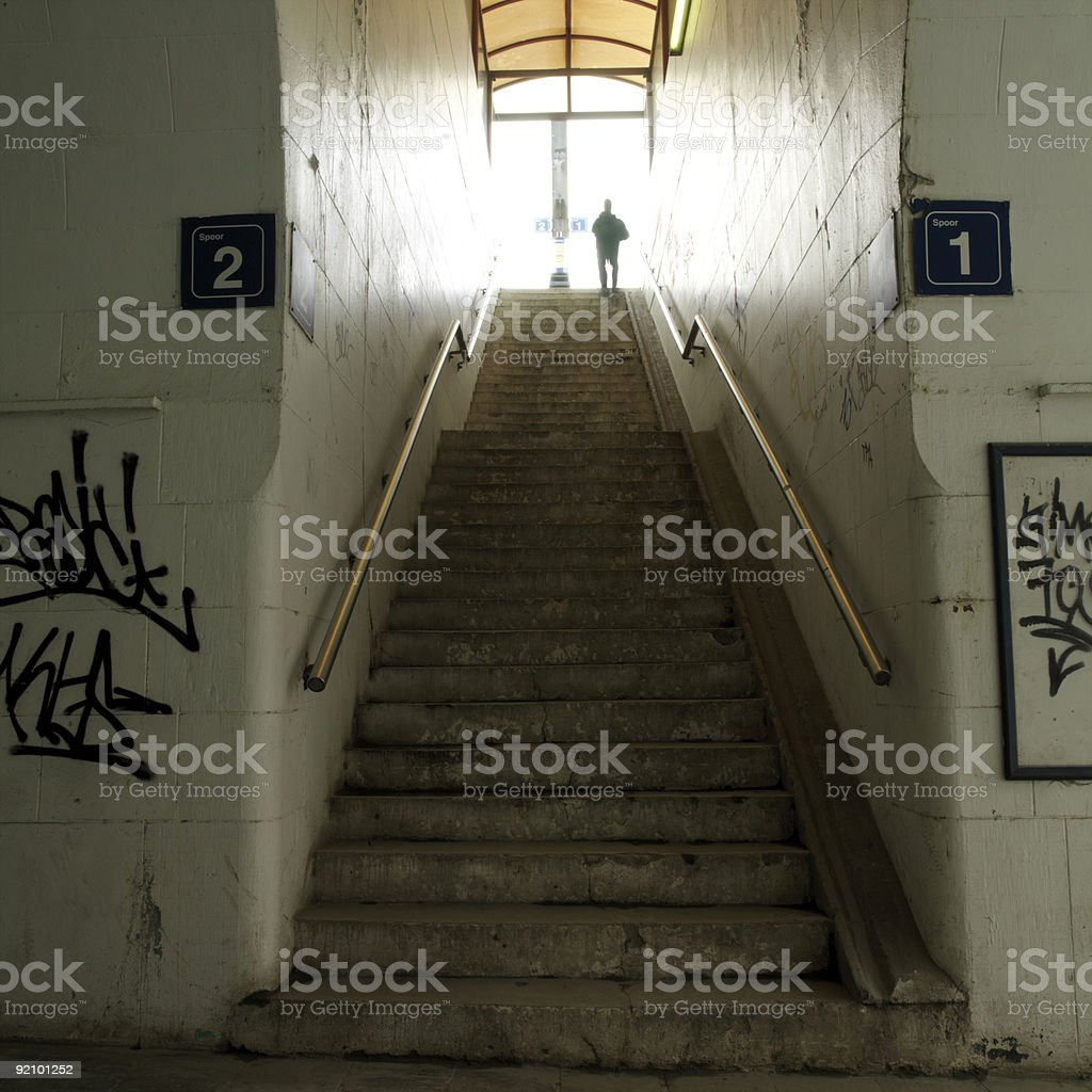 station passage royalty-free stock photo