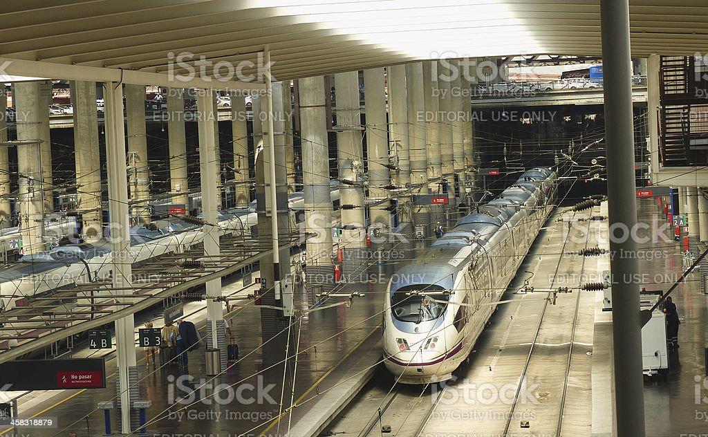 AVE station stock photo