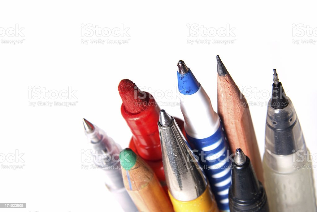 Stationary stock photo