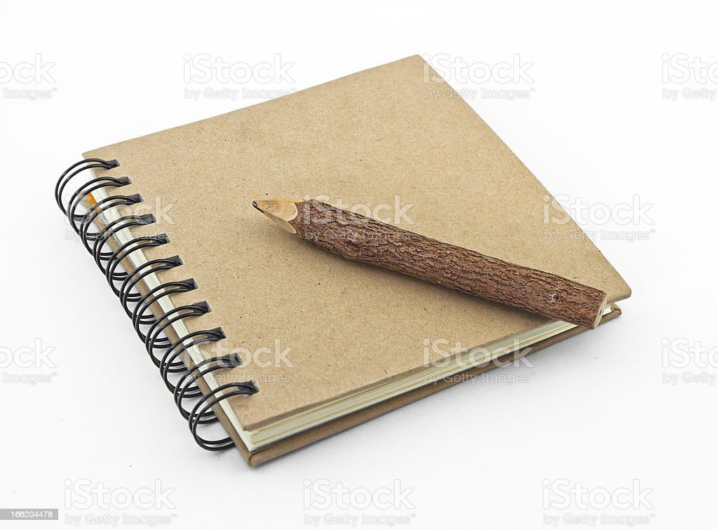 ECO Stationery Set royalty-free stock photo