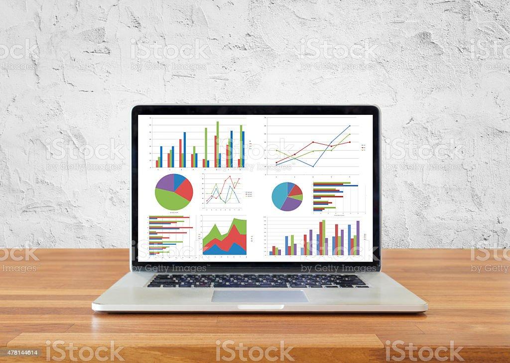 Statistics Concept stock photo