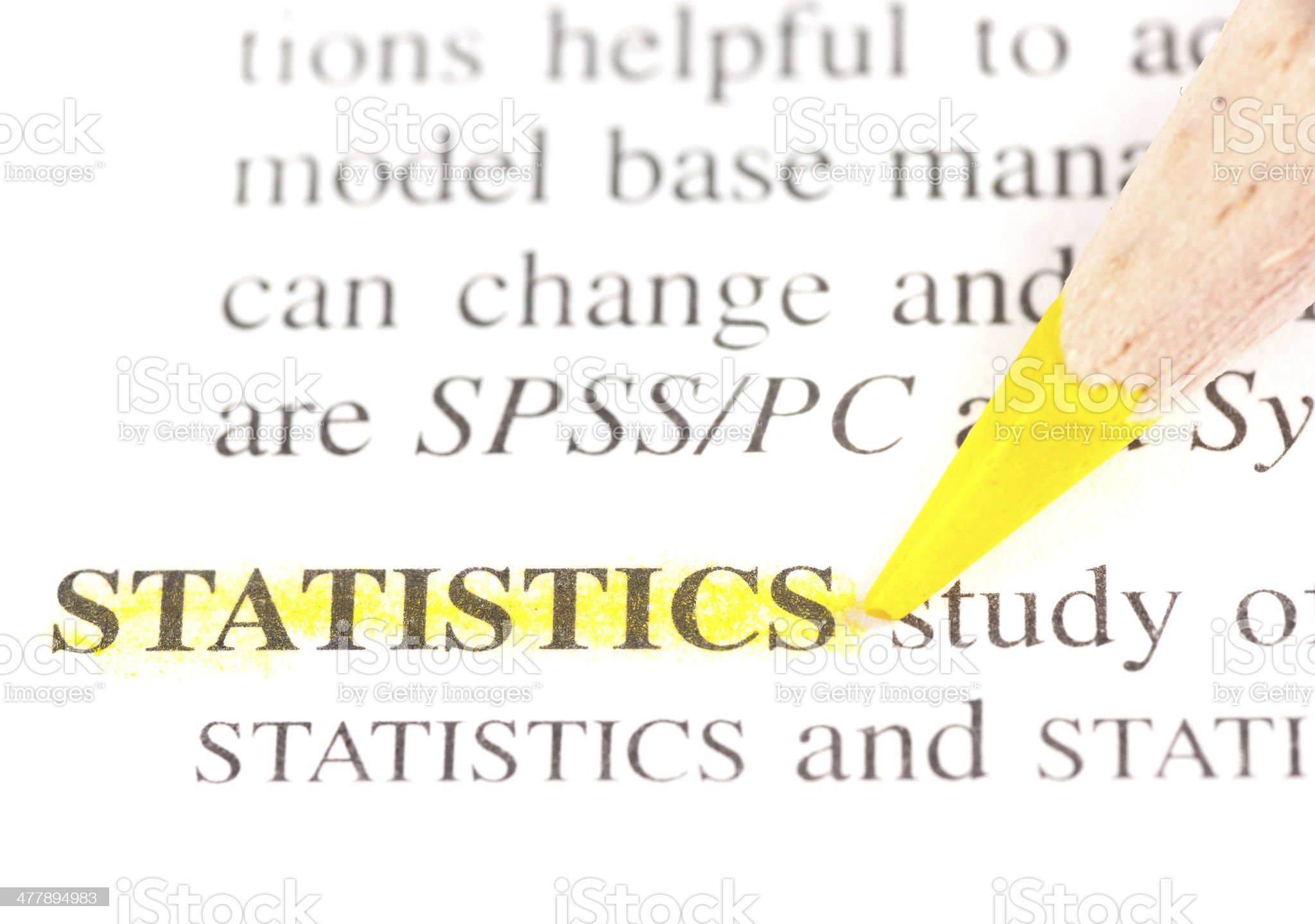 statistics definition highligted in dictionary royalty-free stock photo