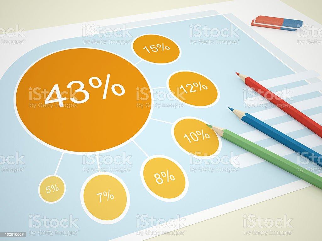 Statistics Reports stock photo