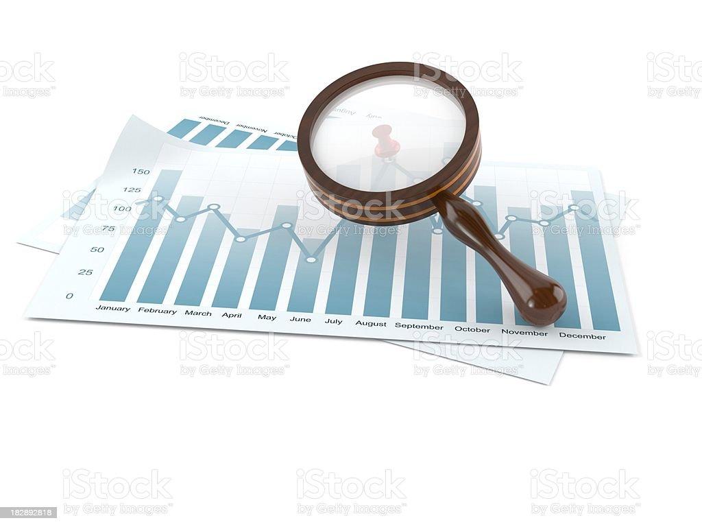 Stats royalty-free stock photo