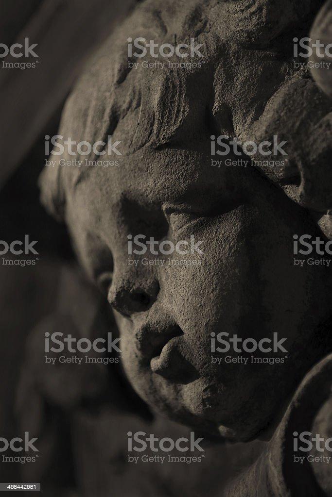 Statue 8 stock photo
