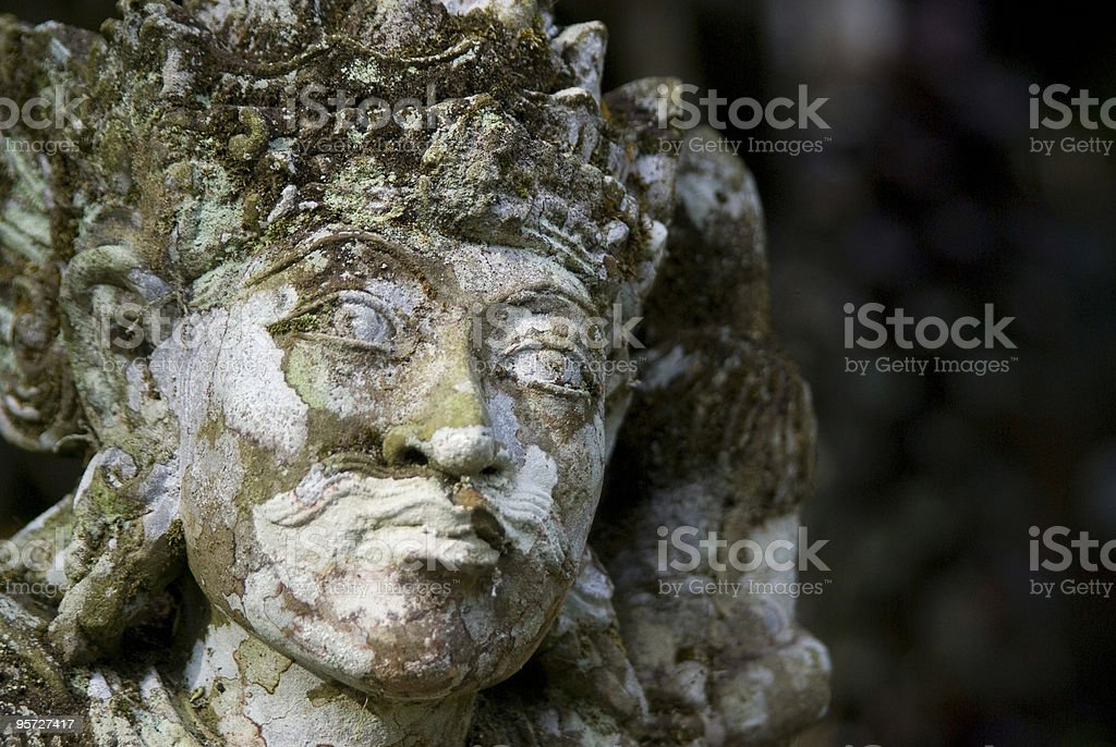 Statue at Temple royalty-free stock photo
