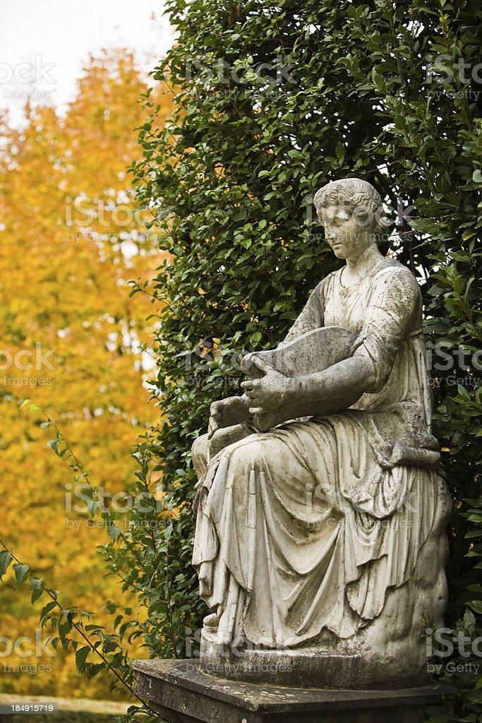 Statue at the Boboli Gardens stock photo