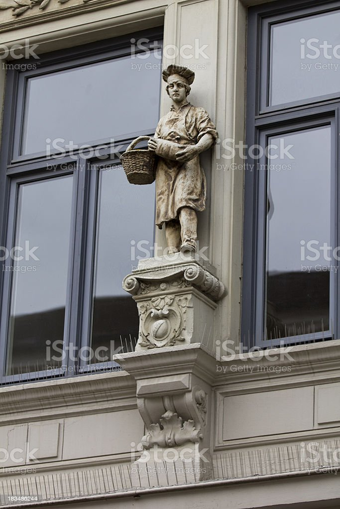 statue baker royalty-free stock photo