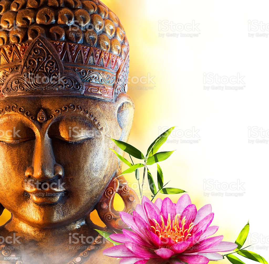 Statue buddha zen stock photo